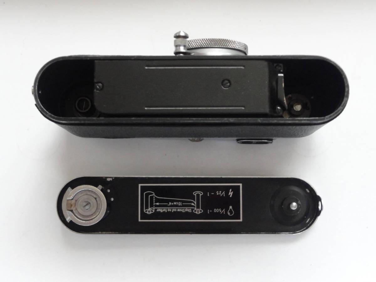 アンティークなニッカ3Fと東京光学のSimiar5cmF3.5沈胴式レンズ付き_画像6