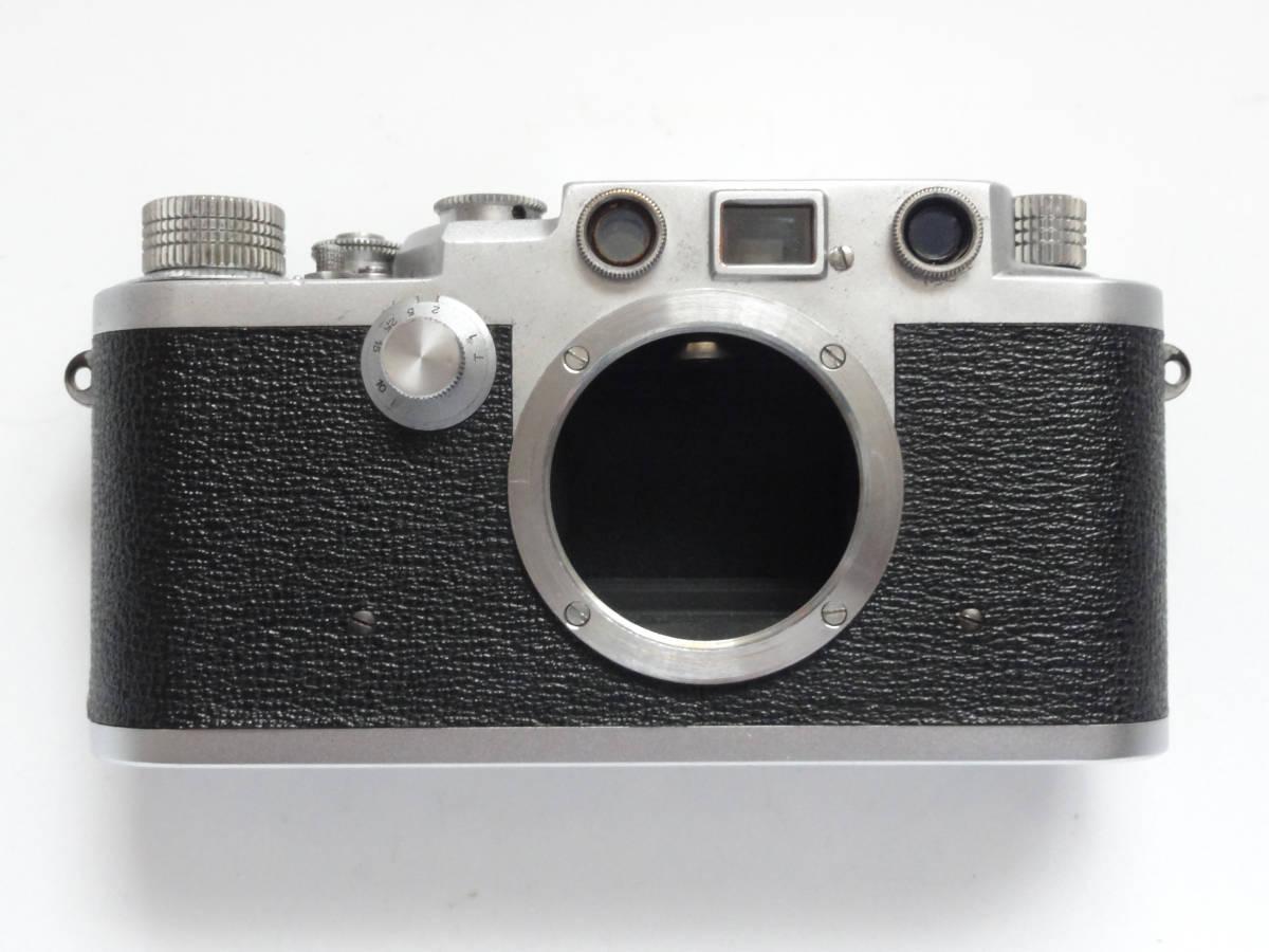 アンティークなニッカ3Fと東京光学のSimiar5cmF3.5沈胴式レンズ付き_画像7