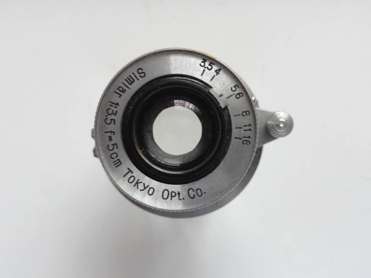 アンティークなニッカ3Fと東京光学のSimiar5cmF3.5沈胴式レンズ付き_画像8