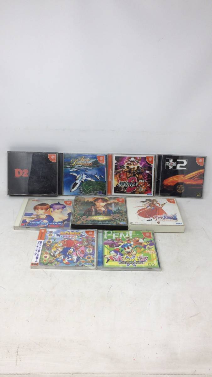 1円~超希少!!超レア!セガ ドリームキャスト DC ゲームソフト99本セット!まとめて まとめ 大量 b_画像2