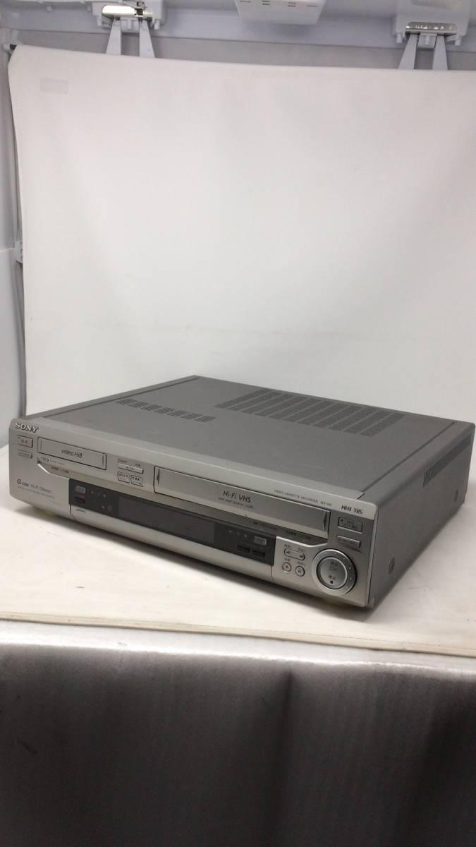 1円~超希少!!超レア!■SONY WV-H6 Hi8 / VHS ダブルビデオデッキ リモコン付属