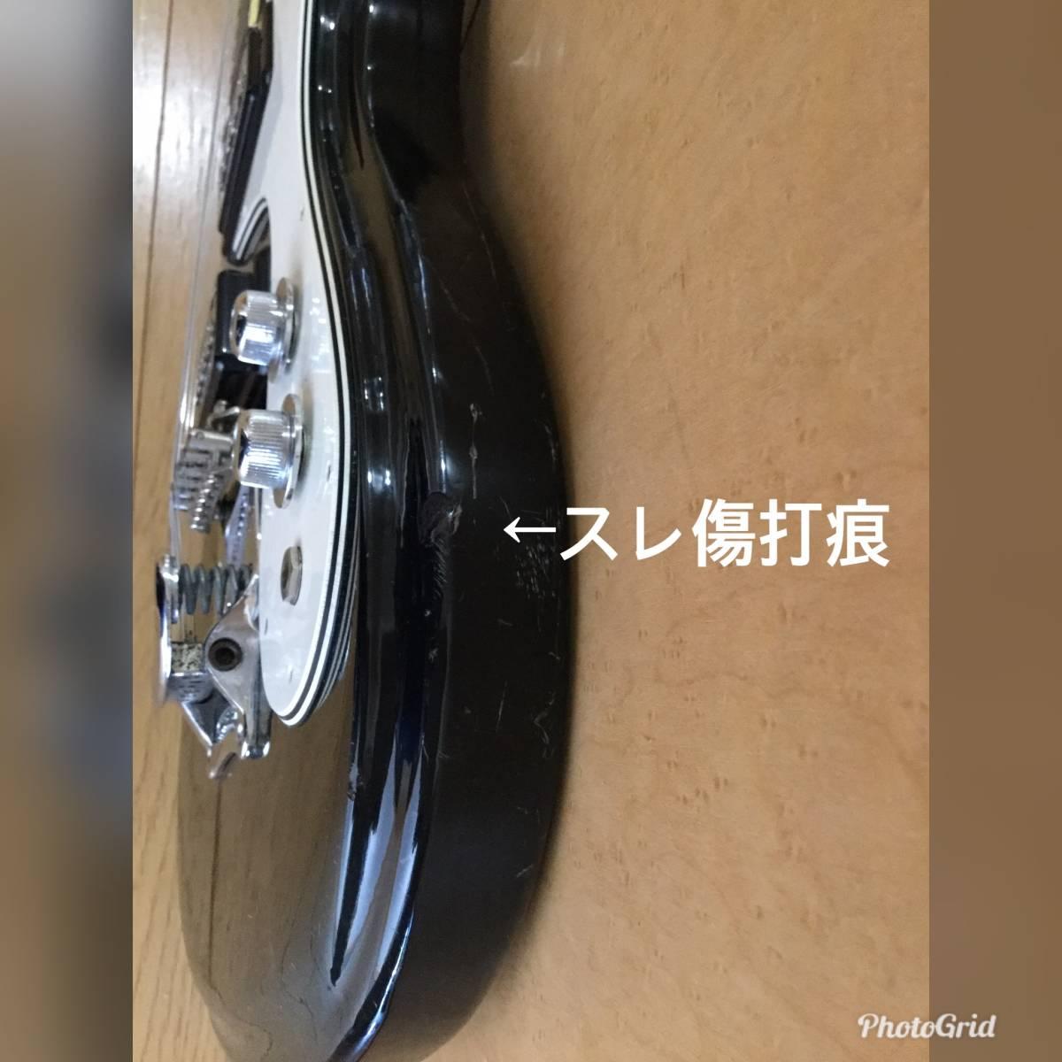 ☆モズライト mosrite Avenger 日本製 音出しOK、ネック良好、アーム欠品、傷多い為 ジャンク扱い ☆_画像9