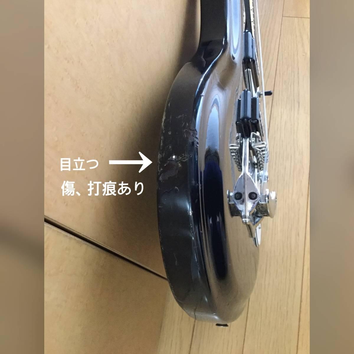 ☆モズライト mosrite Avenger 日本製 音出しOK、ネック良好、アーム欠品、傷多い為 ジャンク扱い ☆_画像10