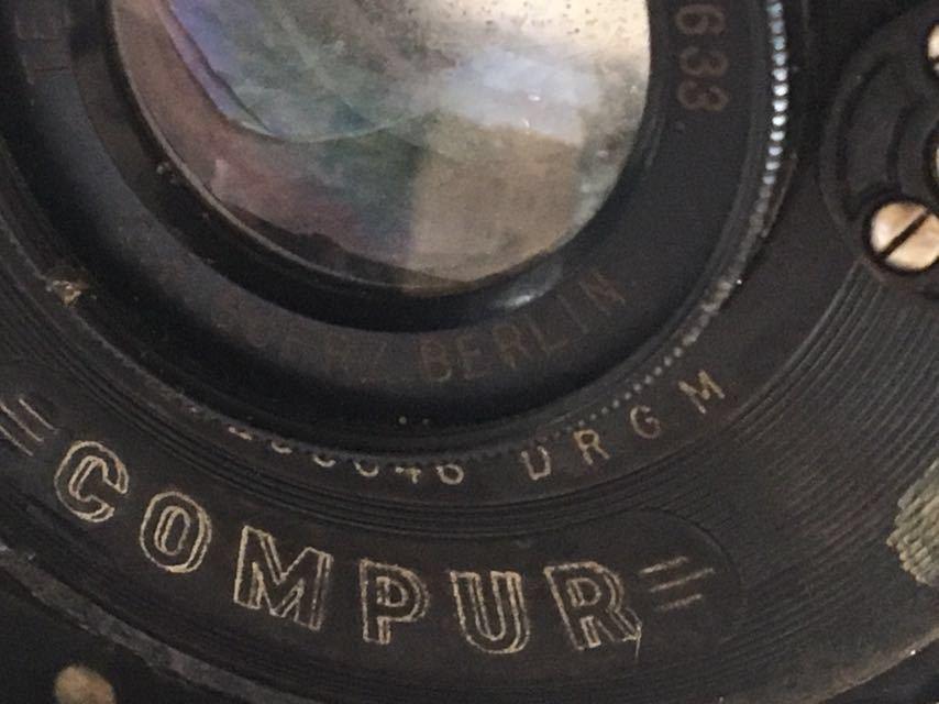 5301 蛇腹カメラ COMPUR 未確認 ジャンク 部品取り_画像8