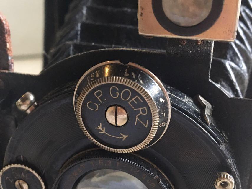 5301 蛇腹カメラ COMPUR 未確認 ジャンク 部品取り_画像7
