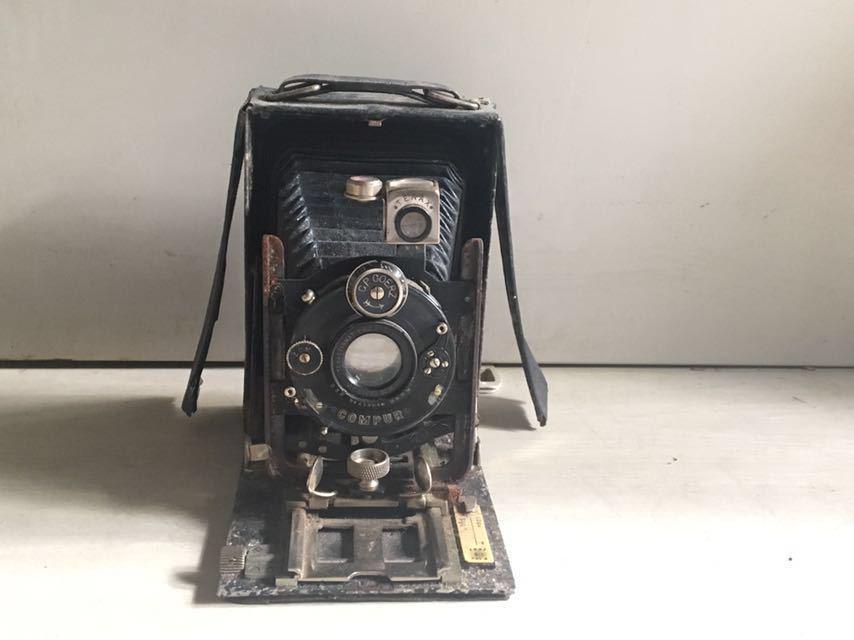 5301 蛇腹カメラ COMPUR 未確認 ジャンク 部品取り