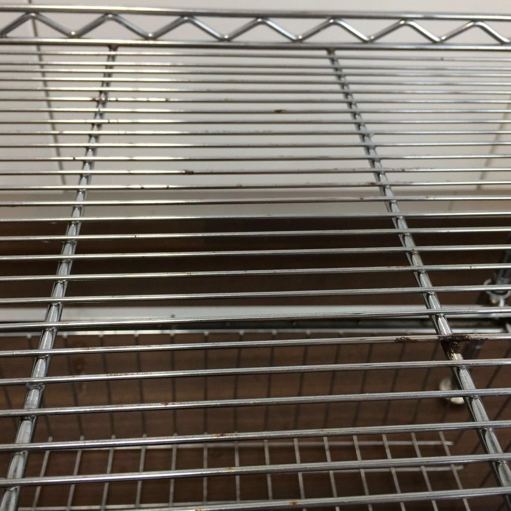 ルミナス メタルラック スチールラック キッチン シンク下 収納 引き出しつき_画像4
