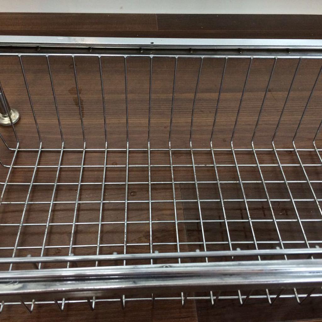 ルミナス メタルラック スチールラック キッチン シンク下 収納 引き出しつき_画像6
