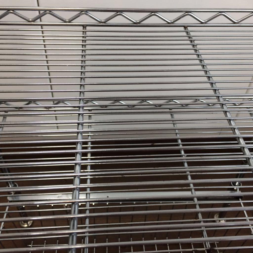 ルミナス メタルラック スチールラック キッチン シンク下 収納 引き出しつき_画像5
