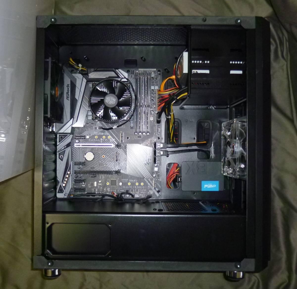 CoffeeLake/Core i7 8700K/Win10/SSD240GB/8GBメモリ/HDD1TB/GamingBoard_画像2
