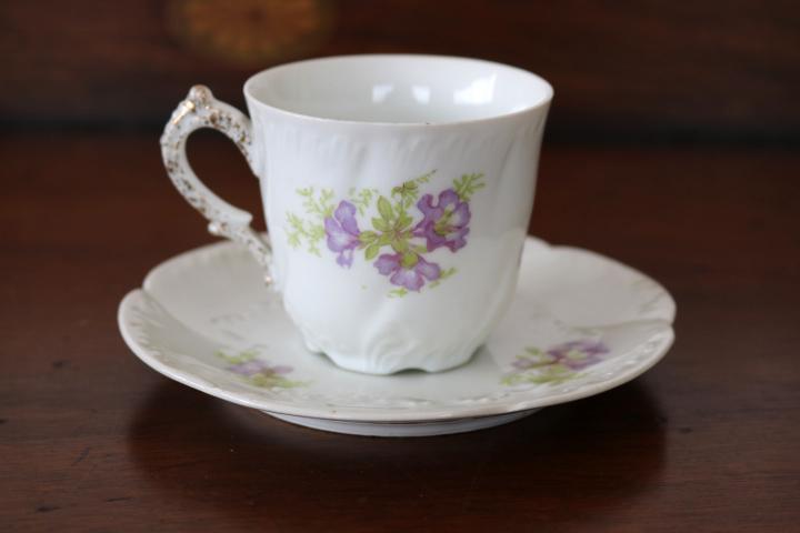 ■ リモージュのアンティーク、コーヒーカップ&ソーサー ■_画像2