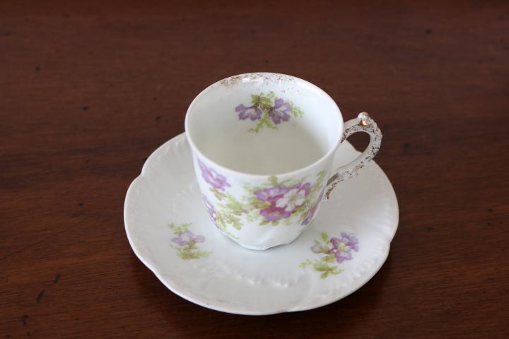 ■ リモージュのアンティーク、コーヒーカップ&ソーサー ■_画像5