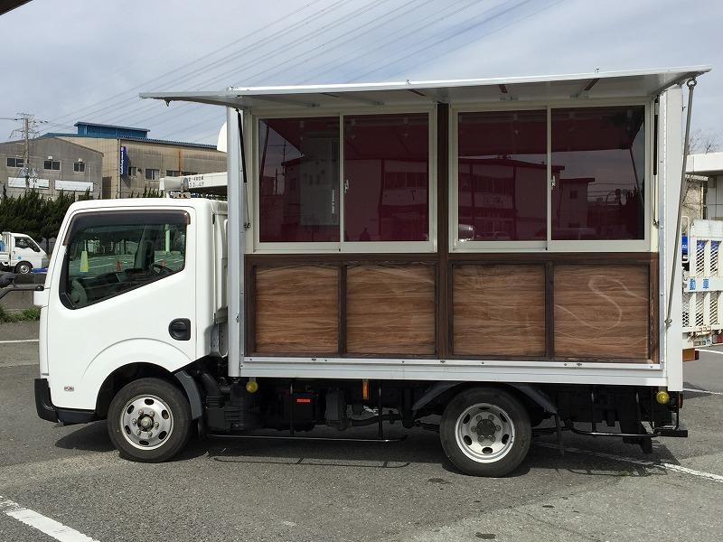 移動販売車 キッチンカー 最安で80万円台から製作可能です ローンOK 8ナンバー2年車検 ダイナ キャンター_在庫ではありません ご注意ください