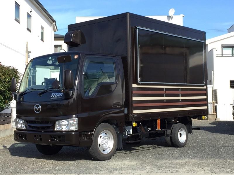移動販売車 キッチンカー 最安で80万円台から製作可能です ローンOK 8ナンバー2年車検 ダイナ キャンター_ローンでのお支払いOKです(要審査)