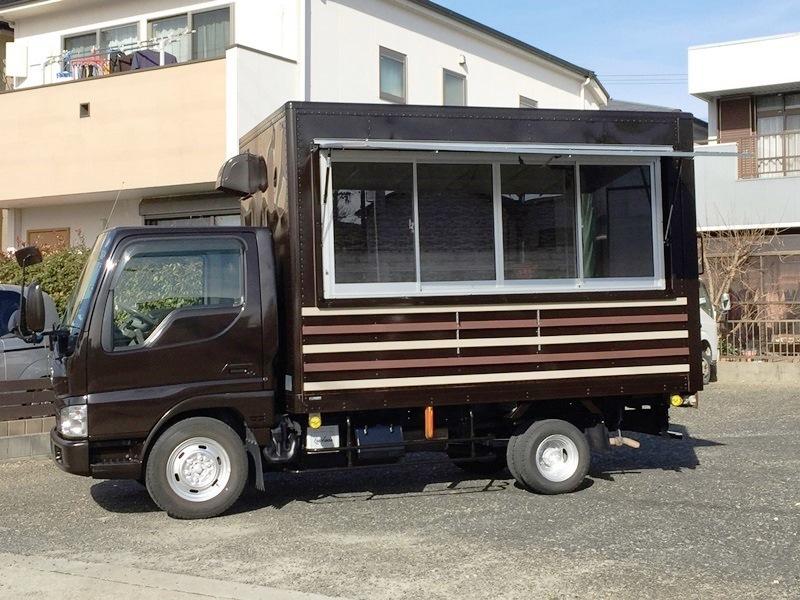 移動販売車 キッチンカー 最安で80万円台から製作可能です ローンOK 8ナンバー2年車検 ダイナ キャンター_画像7