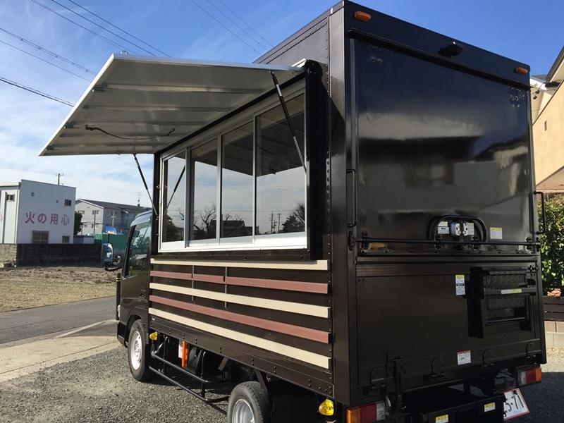 移動販売車 キッチンカー 最安で80万円台から製作可能です ローンOK 8ナンバー2年車検 ダイナ キャンター_画像8