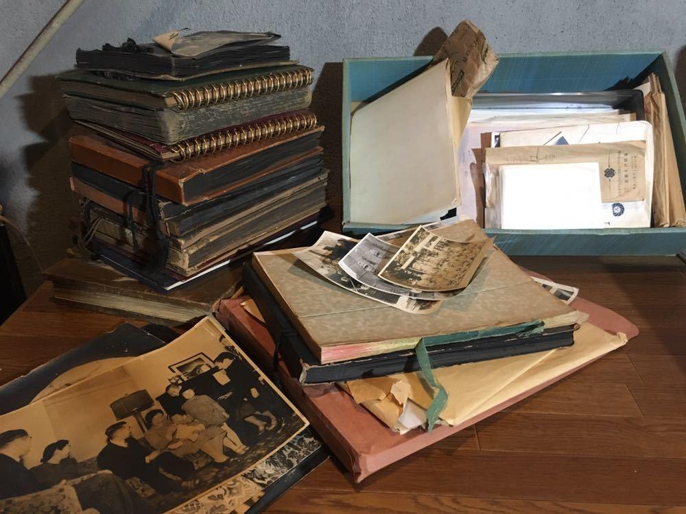 大量 古写真 古い アルバム10冊以上 バラ約500枚 白黒写真 戦前 戦中 戦後 大正 昭和 戦