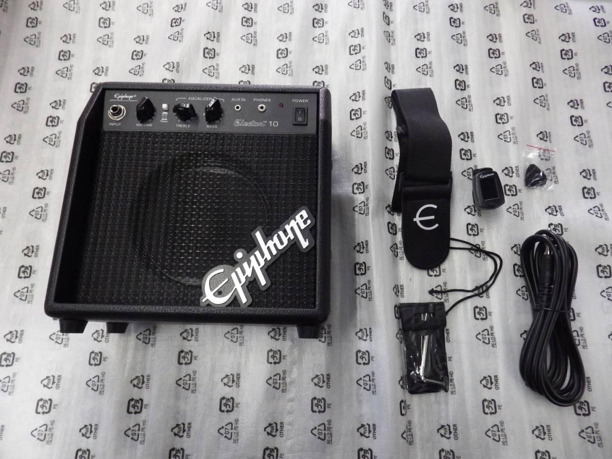 新品 EPIPHONE エピフォン エレキギターセット Les Paul Player Pack EB Special-II LTD レスポール プレイヤーパック _画像5
