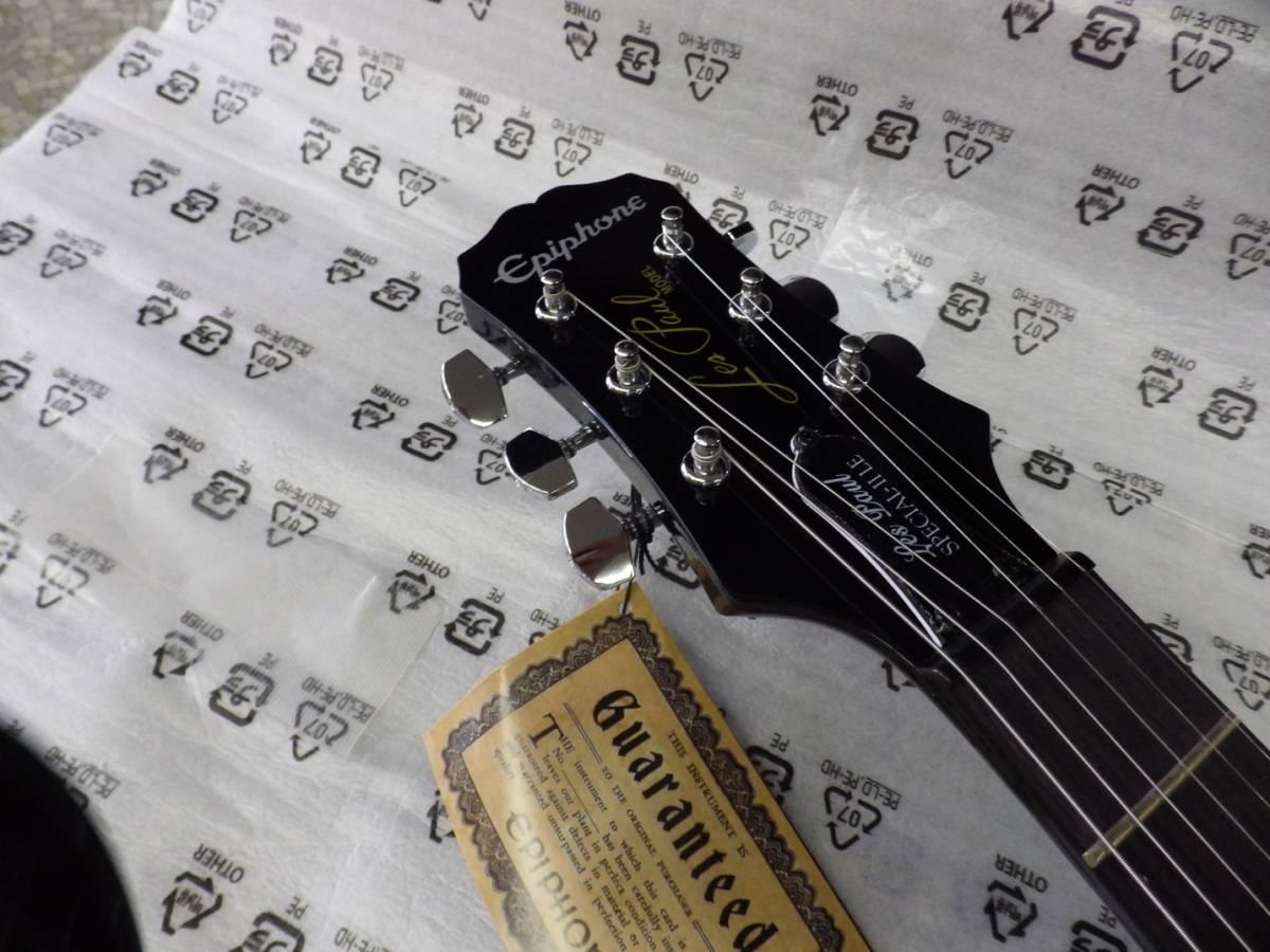 新品 EPIPHONE エピフォン エレキギターセット Les Paul Player Pack EB Special-II LTD レスポール プレイヤーパック _画像3