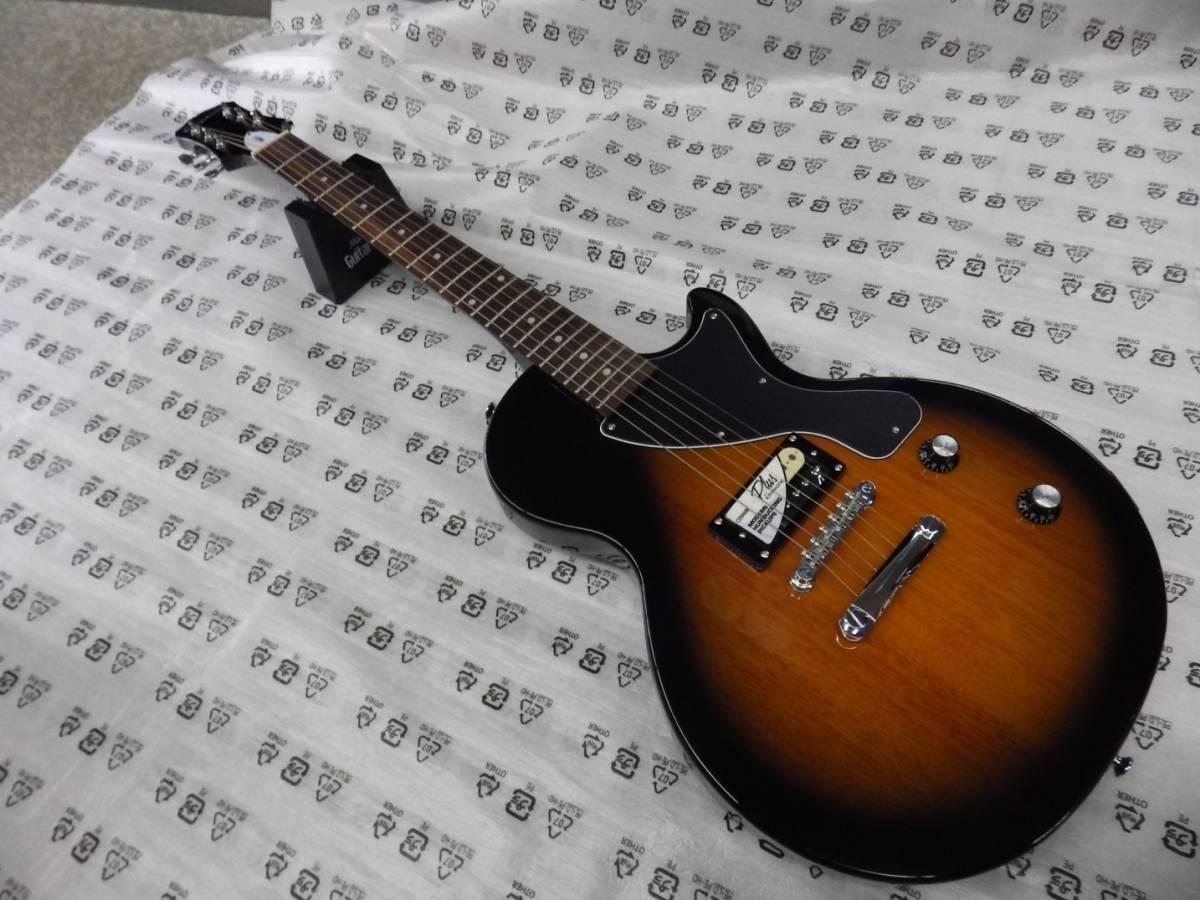 新品・即決 EPIPHONE エピフォン エレキギターセット PRO-1 LES PAUL JR PACK VS レスポールジュニア パック _画像1