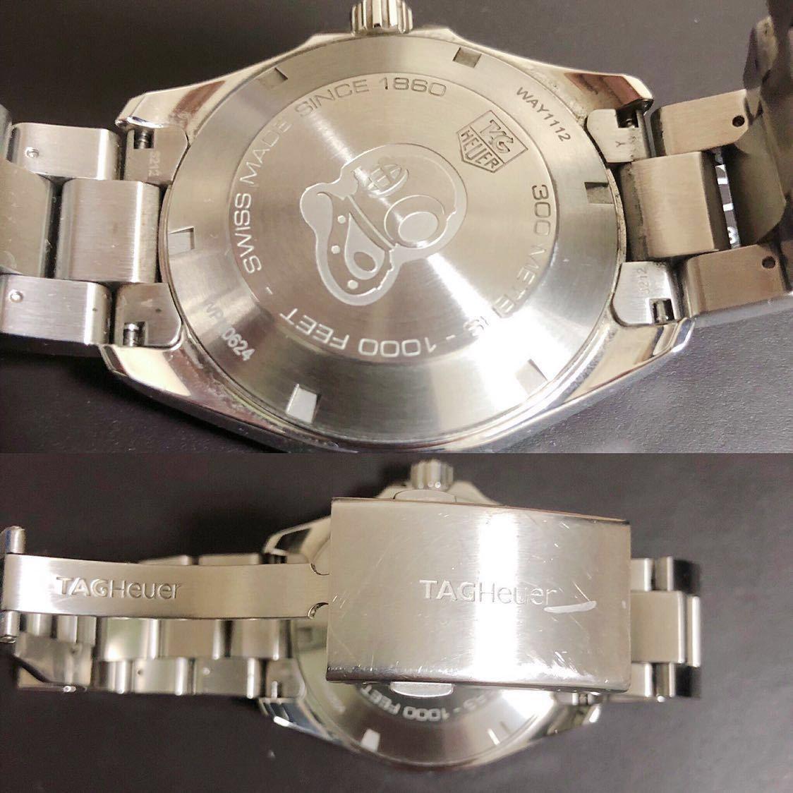 腕時計 タグ・ホイヤー アクアレーサー 防水 メンズ WAY1112【人気のブルー】_画像4