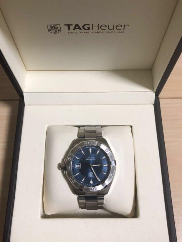 腕時計 タグ・ホイヤー アクアレーサー 防水 メンズ WAY1112【人気のブルー】_画像2