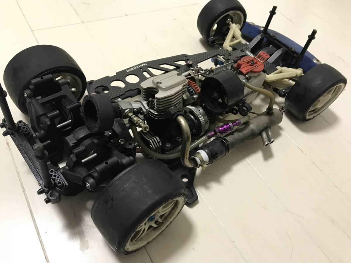 【希少・4スト】スーパー10「FW-03」OS FS26付 2スピード等、オプション&予備エンジン付、ジャンク扱いで。_画像2