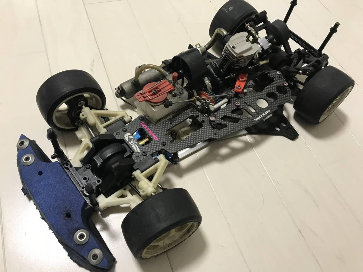 【希少・4スト】スーパー10「FW-03」OS FS26付 2スピード等、オプション&予備エンジン付、ジャンク扱いで。_画像3