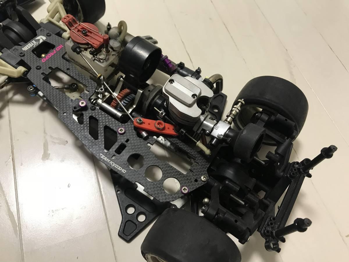 【希少・4スト】スーパー10「FW-03」OS FS26付 2スピード等、オプション&予備エンジン付、ジャンク扱いで。_画像4