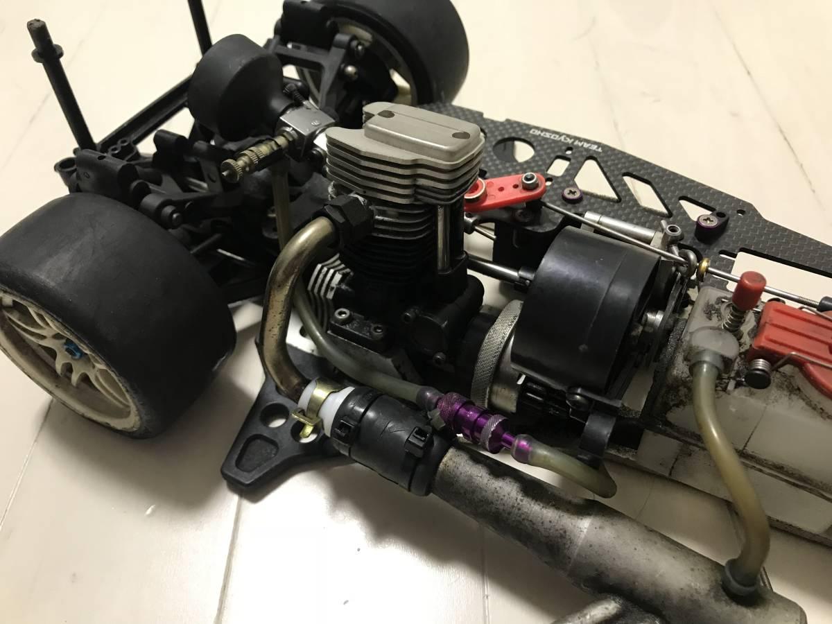 【希少・4スト】スーパー10「FW-03」OS FS26付 2スピード等、オプション&予備エンジン付、ジャンク扱いで。_画像5