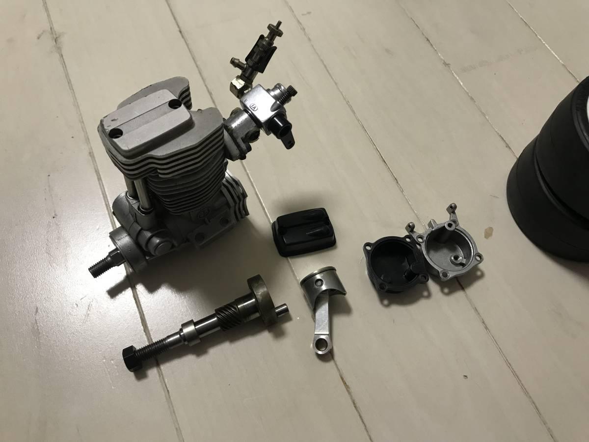 【希少・4スト】スーパー10「FW-03」OS FS26付 2スピード等、オプション&予備エンジン付、ジャンク扱いで。_画像6