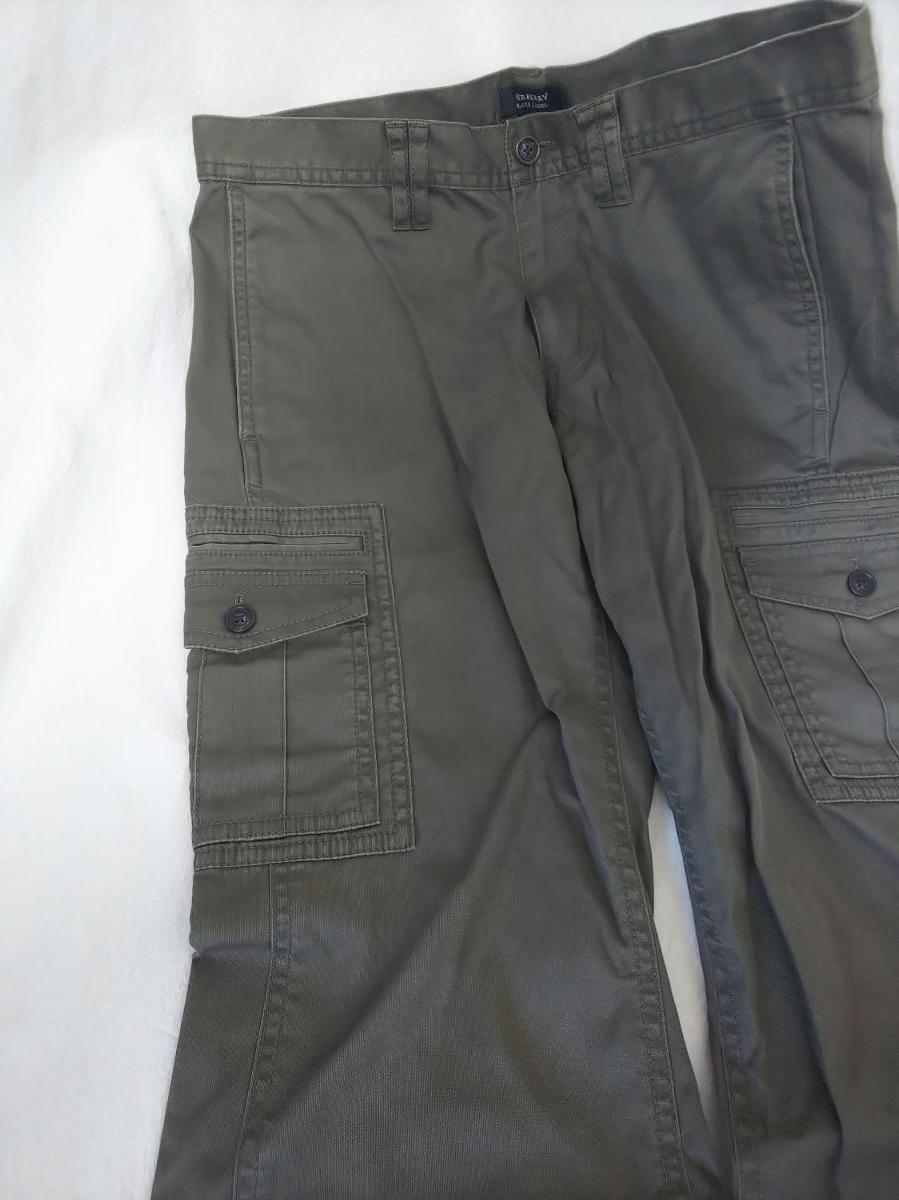 BURBERRY BLACK LABEL バーバリーブラックレーベル カーゴ カジュアルパンツ パンツ カーキ グリーン 系 サイズ 73 メンズ バーバリー _カーゴ カジュアル パンツ