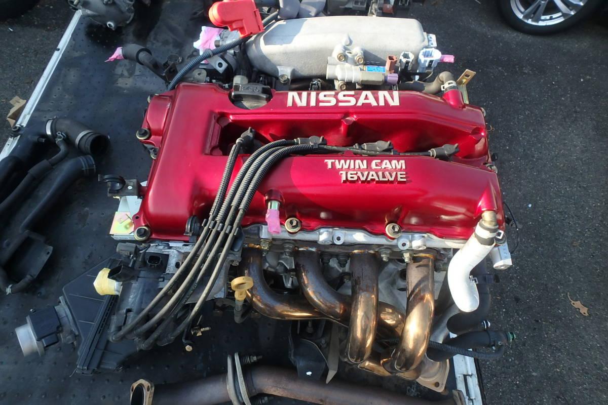 S15 シルビア オーテックバージョン 専用チューン SR20DE エンジン エキマニ ハーネス ECU クラッチ 異音無しで好調でした!_画像2