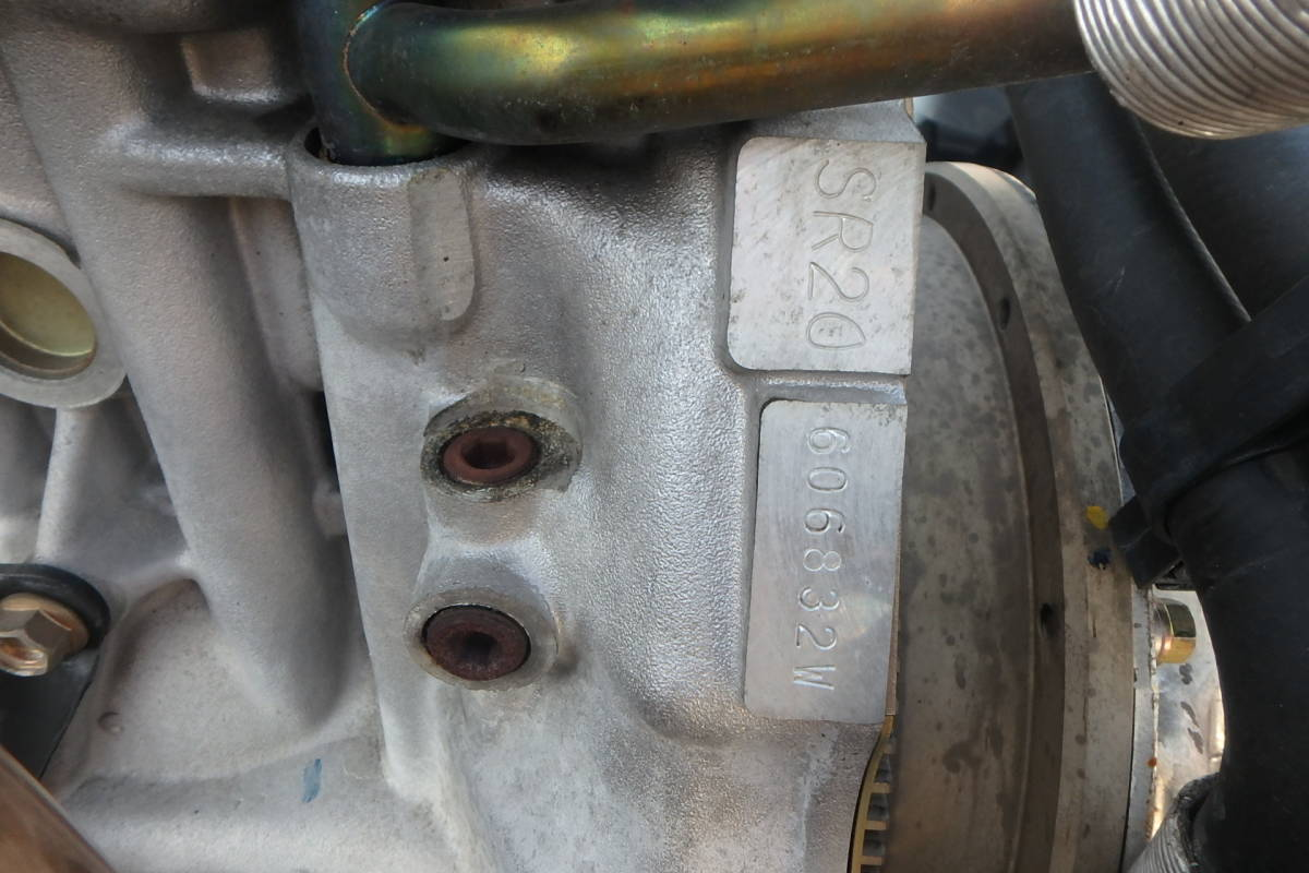 S15 シルビア オーテックバージョン 専用チューン SR20DE エンジン エキマニ ハーネス ECU クラッチ 異音無しで好調でした!_画像6