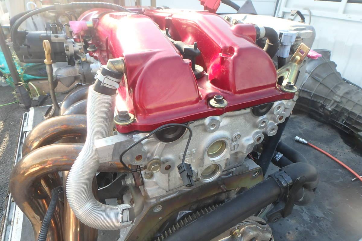 S15 シルビア オーテックバージョン 専用チューン SR20DE エンジン エキマニ ハーネス ECU クラッチ 異音無しで好調でした!_画像8