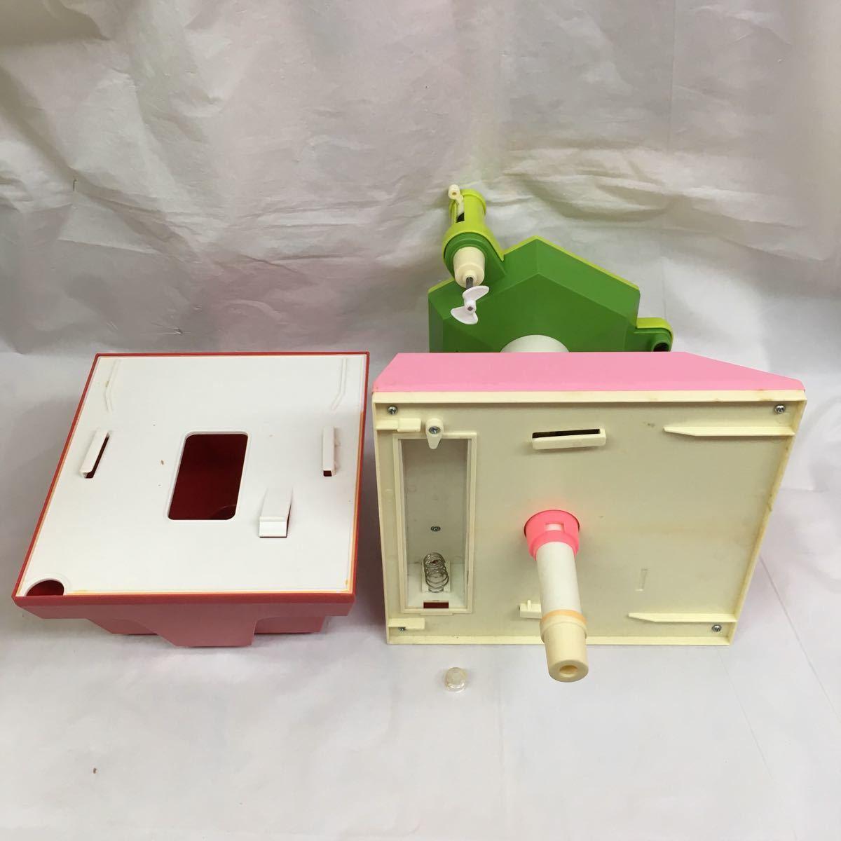 ジャンク 昭和レトロ アサヒ玩具 ママジューサー ママ・ジューサー おままごと 朝日玩具 おもちゃ 検索 ママレンジ _画像8