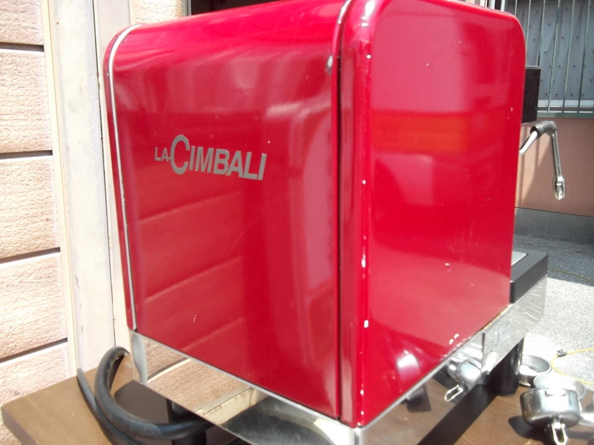 チンバリ cimbali  M21JU-DT1 100V ジュニア エスプレッソマシン  ラテアート イベント向き _画像5