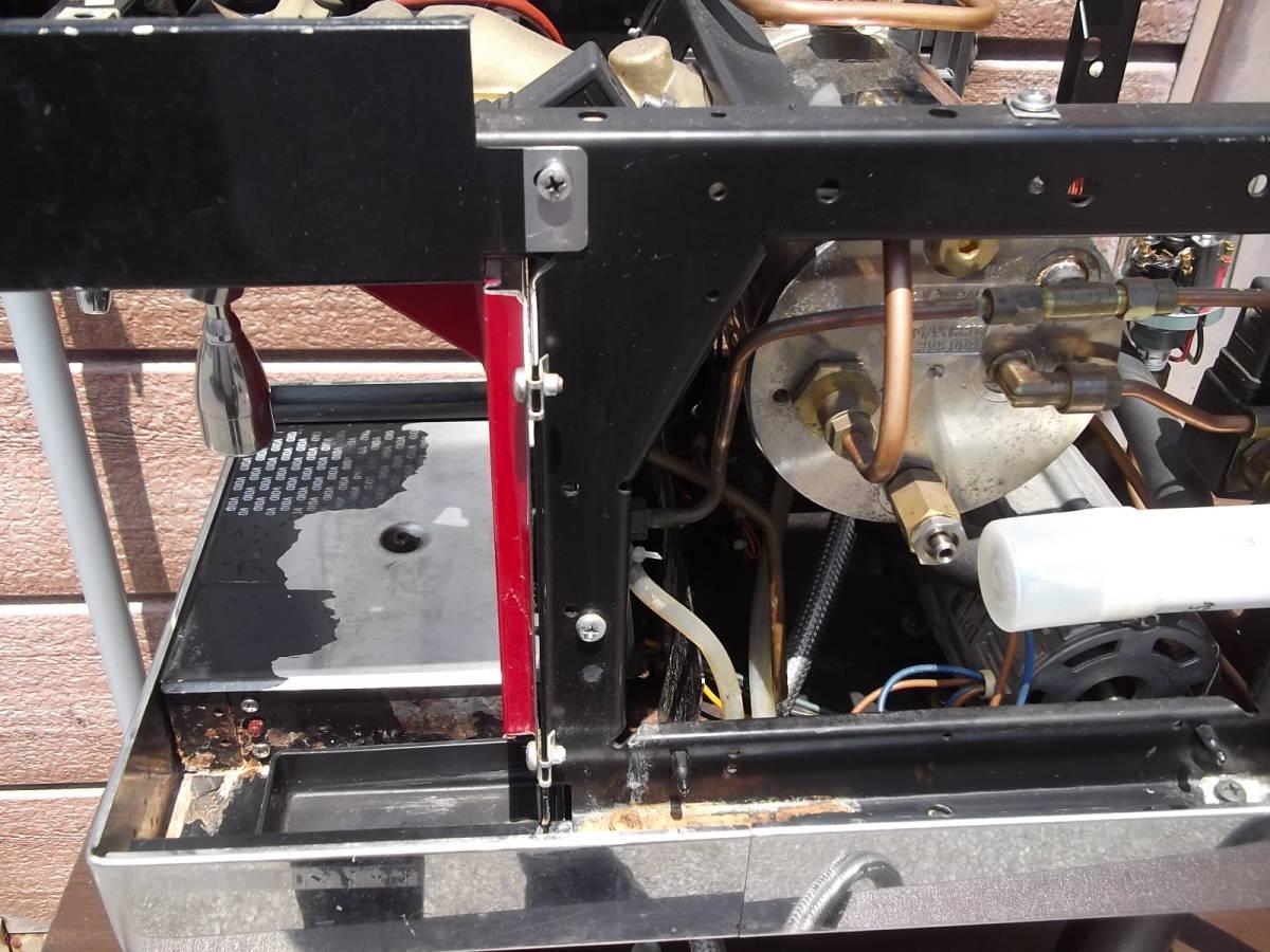 チンバリ cimbali  M21JU-DT1 100V ジュニア エスプレッソマシン  ラテアート イベント向き _画像6