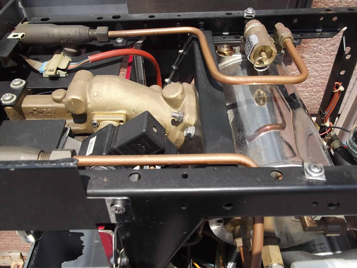 チンバリ cimbali  M21JU-DT1 100V ジュニア エスプレッソマシン  ラテアート イベント向き _画像7
