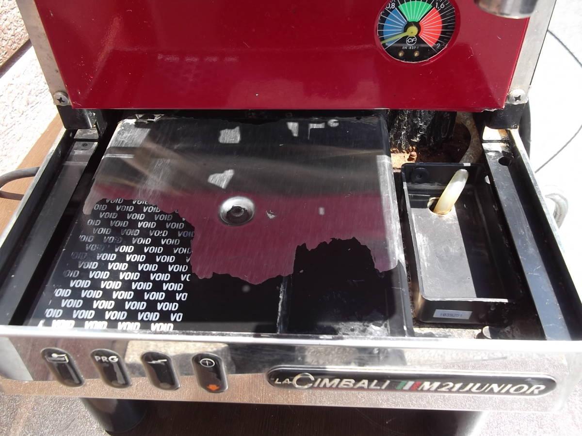 チンバリ cimbali  M21JU-DT1 100V ジュニア エスプレッソマシン  ラテアート イベント向き _画像8