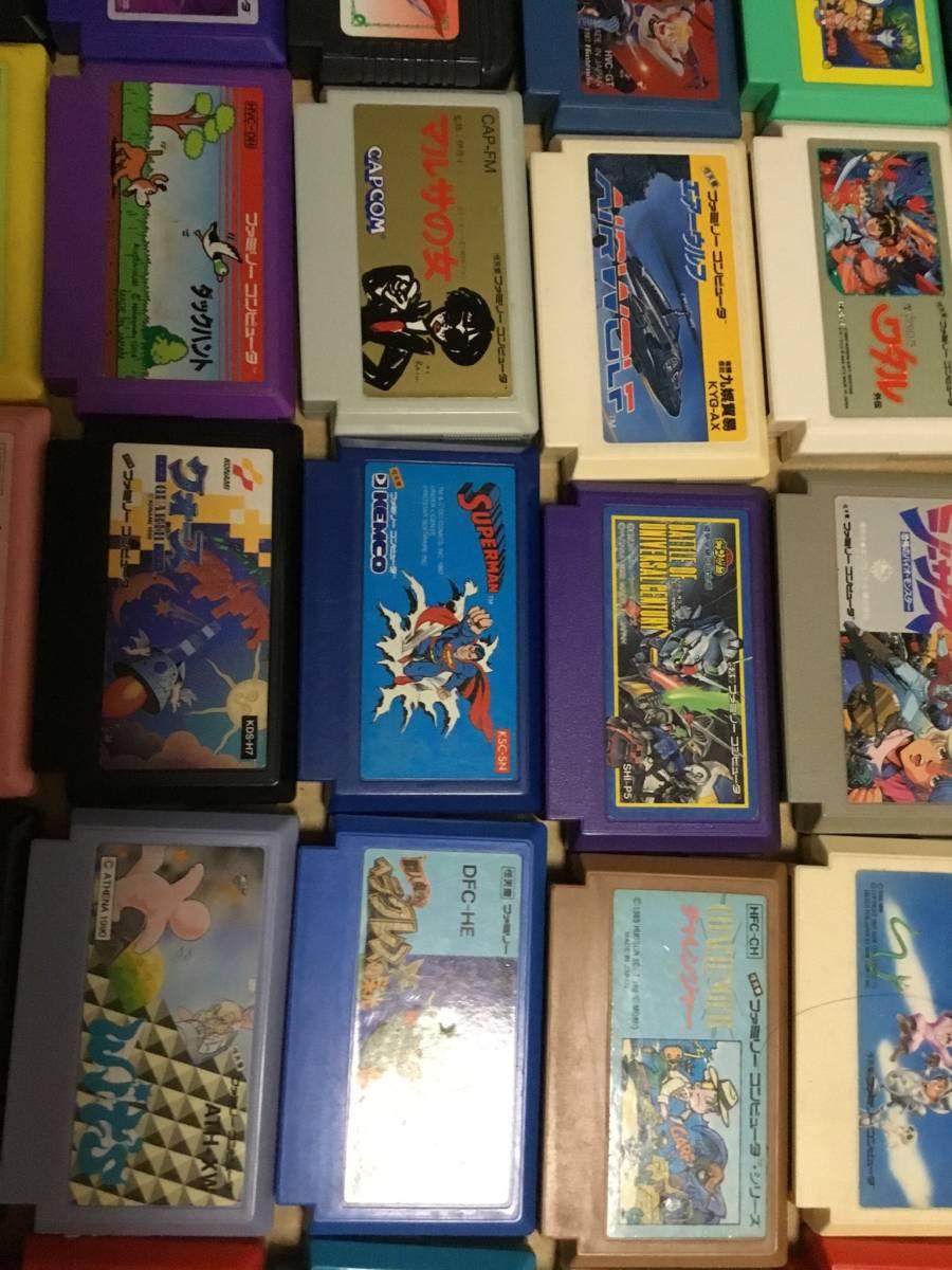 コレクション放出 ファミコンソフト100本以上セット ドラクエ FF テトリス 北斗の拳 など色々  (動作未確認ジャンク)_画像6