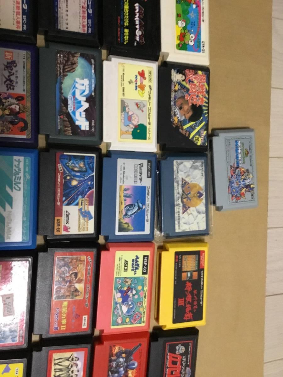 コレクション放出 ファミコンソフト100本以上セット ドラクエ FF テトリス 北斗の拳 など色々  (動作未確認ジャンク)_画像7