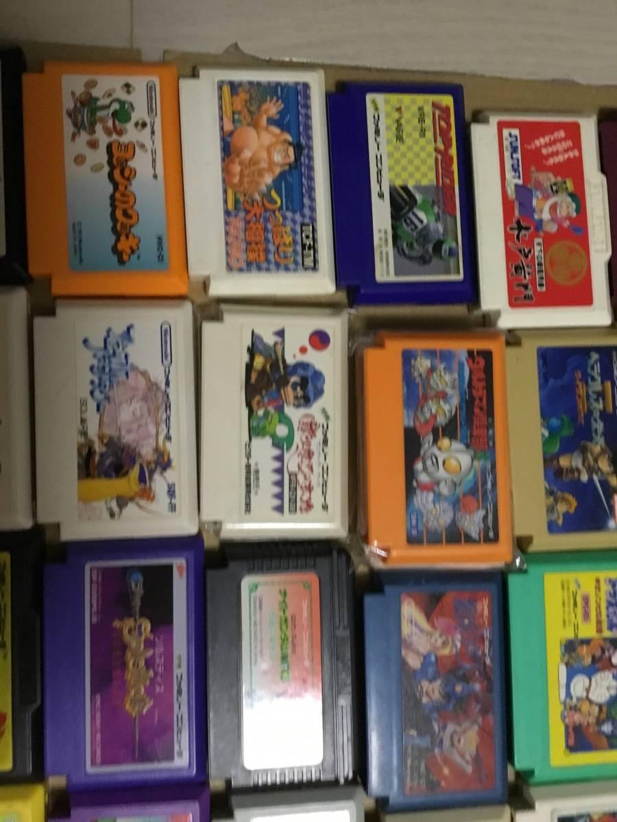 コレクション放出 ファミコンソフト100本以上セット ドラクエ FF テトリス 北斗の拳 など色々  (動作未確認ジャンク)_画像3
