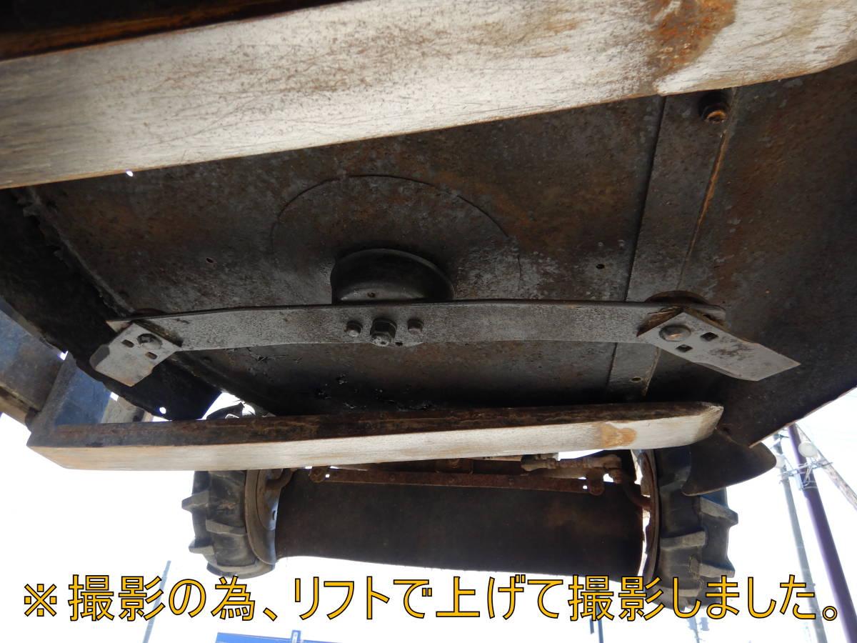 ☆OREC 乗用草刈機 RM80JD ラビットモアーJr ホンダOHVエンジン 中古実動 売切り!_画像10