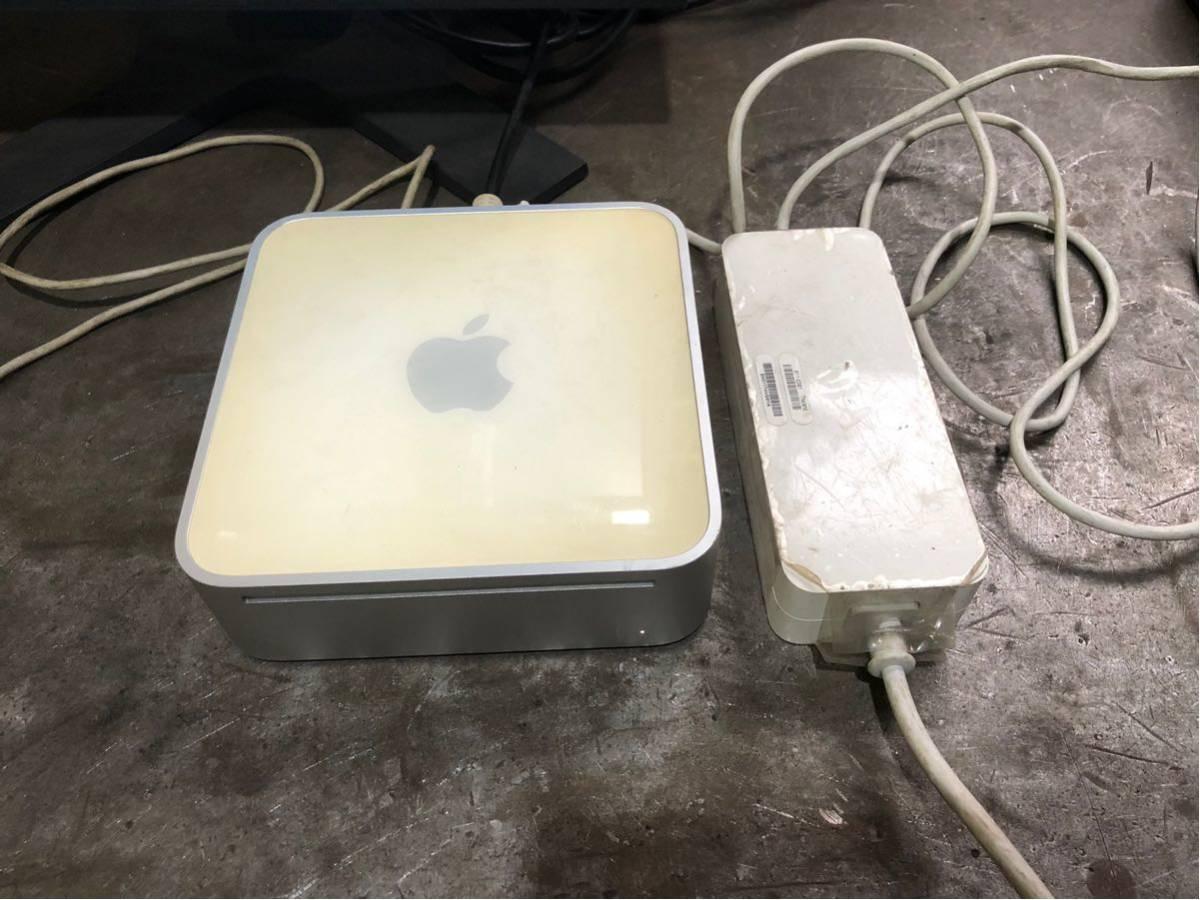 Mac mimi G4 1.42/1GB 動作品ジャンク扱いb