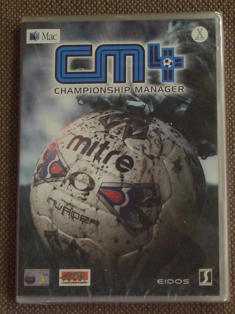 Championship Manager 4 02/03 (Eidos / Feral) Mac CD-ROM