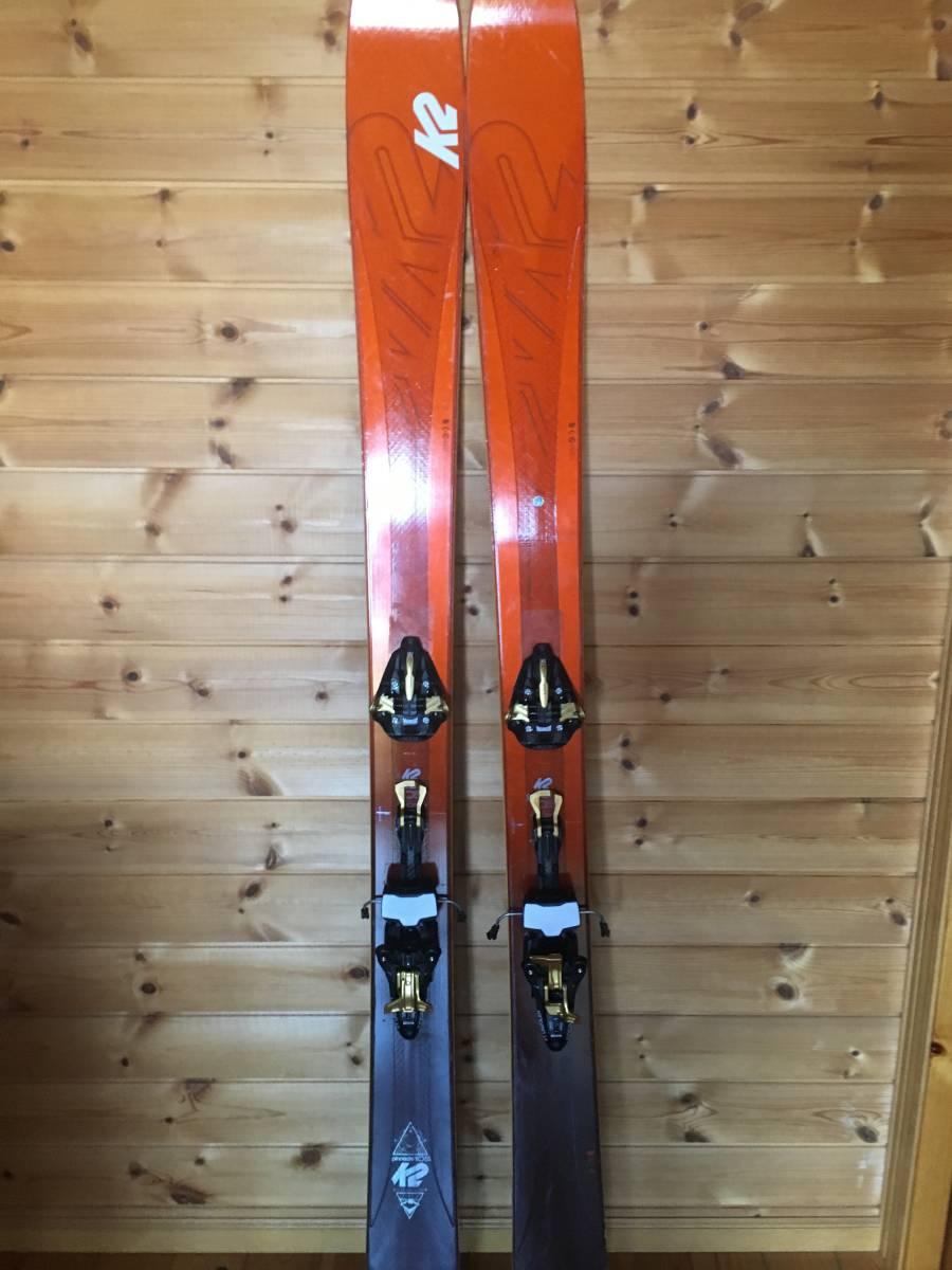 中古バックカントリースキー K2 pinacle 105 _画像3