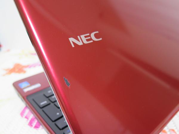 タッチ式【高速Core i5(Haswell)第4世代★爆速新SSD480GB】NEC LS550/S レッド 最新Windows10 ★ メモリ8GB Blu-ray Wi-Fi HDMI Office2016_画像7