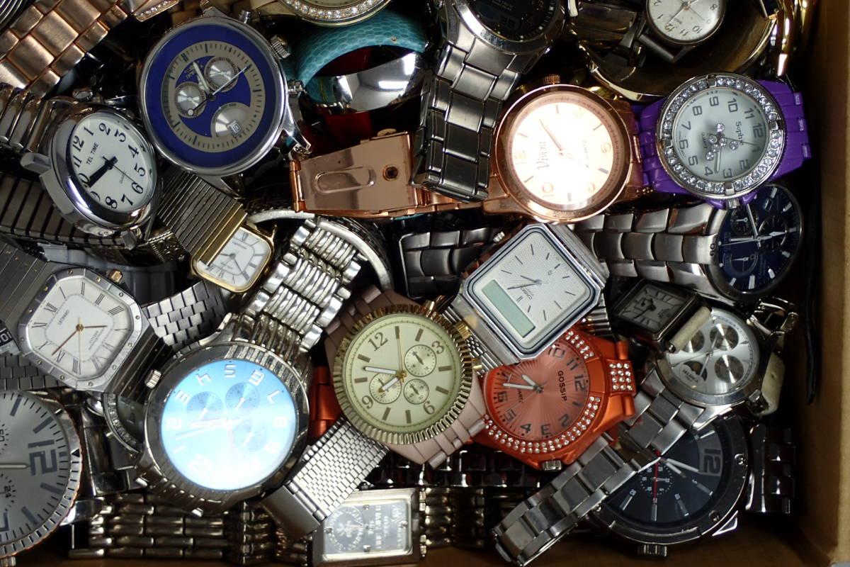 ●ジャンク腕時計セットまとめ 15.1kg 大量300点以上 一円スタート 稼働品多数!!SEIKO INVICTA EMPORIO ARMANI_画像8