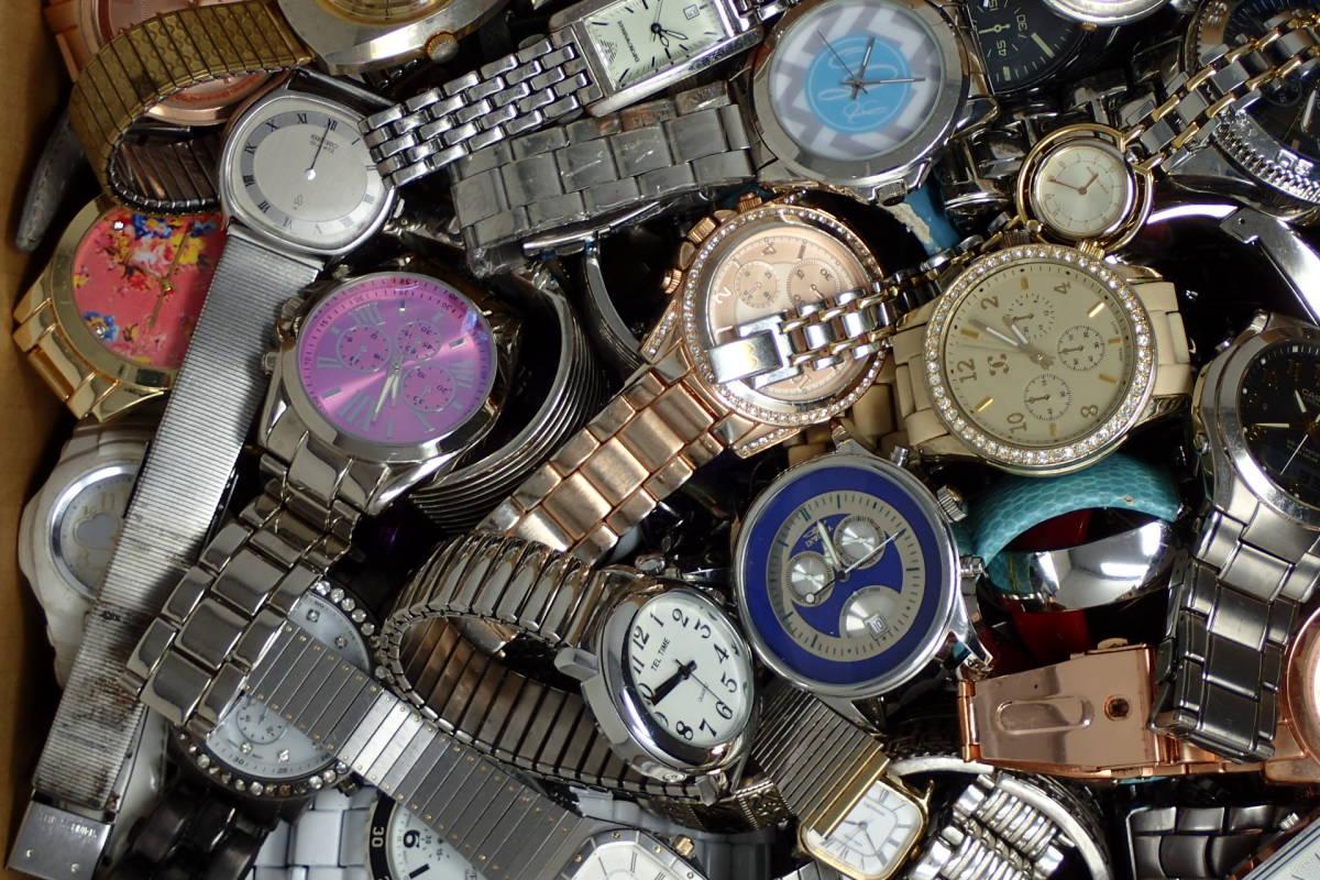 ●ジャンク腕時計セットまとめ 15.1kg 大量300点以上 一円スタート 稼働品多数!!SEIKO INVICTA EMPORIO ARMANI_画像5